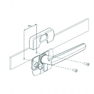 Aria Venting Fastener – Right hand