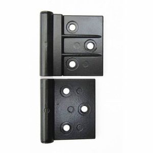 Two Leaf Aluminium Door Hinge - Nu Look NWD1405