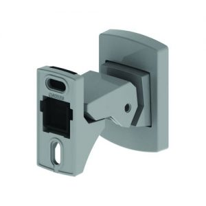 Steadfast Short Doorstop Holdback - Satin Chrome (NWM1013SC)