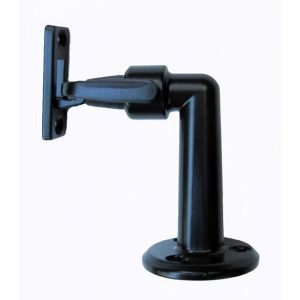 Door Stop Hold Back - F/Mounted - Black