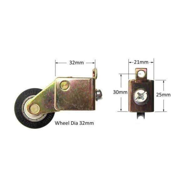 Adjustable carriage & wheel (NWW3754)