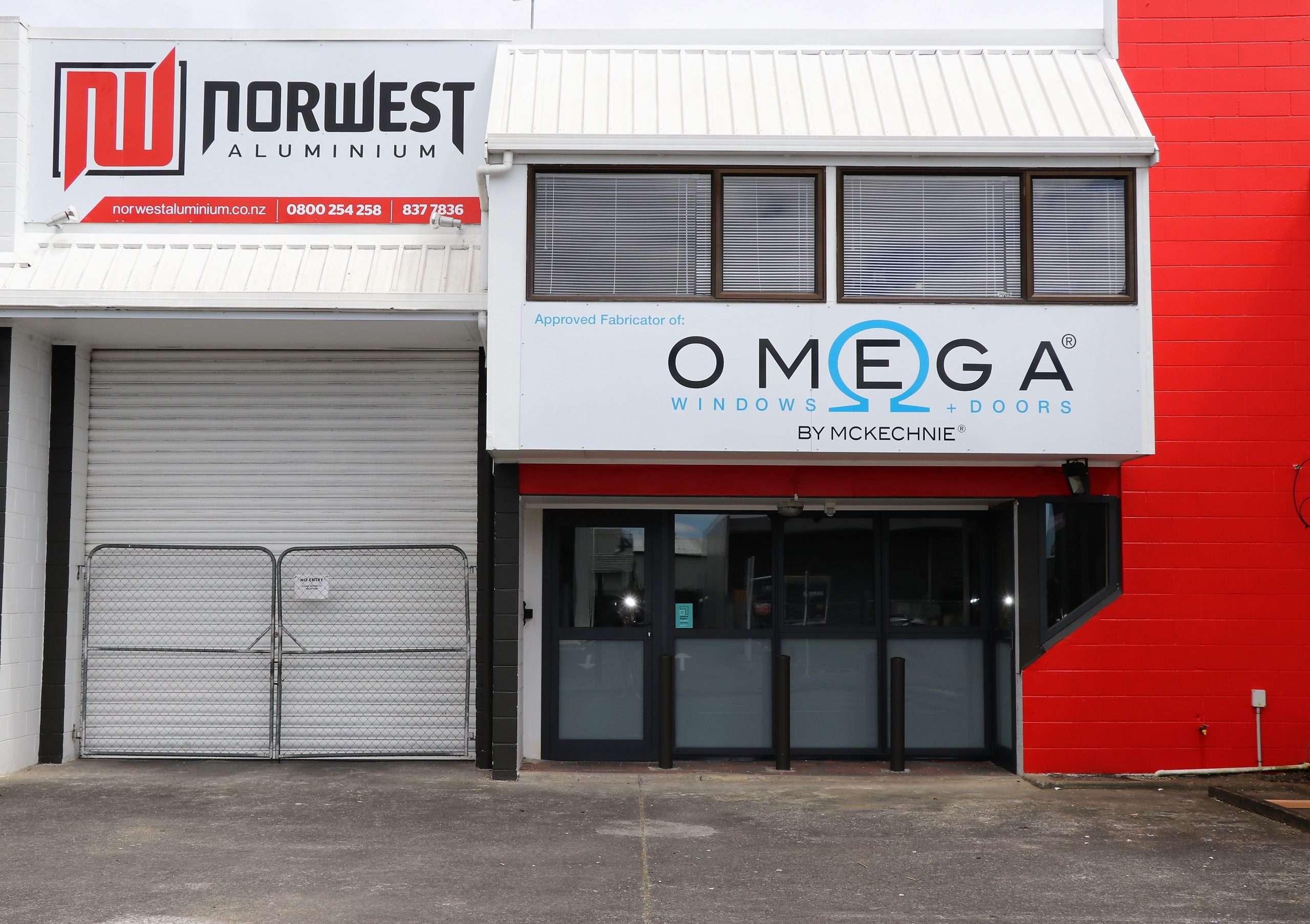 Norwest Aluminium Joinery Hardware Store