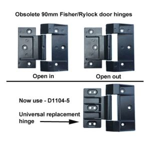 Fisher/Rylock 90mm Universal Hinge
